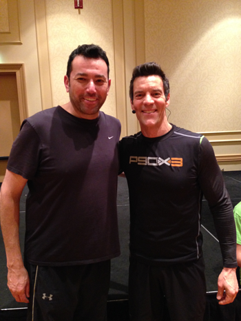 Michael Attias and Tony Horton resized 600