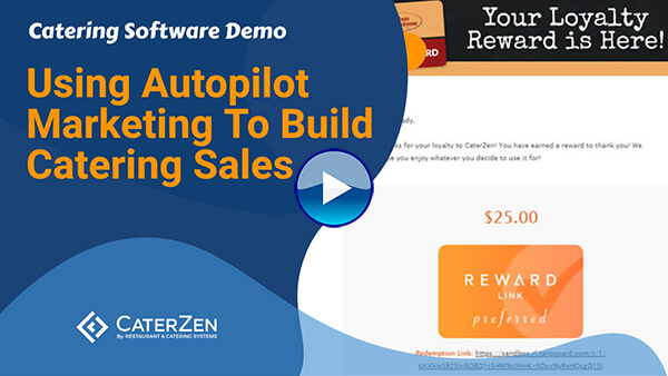 autopilot catering marketing video