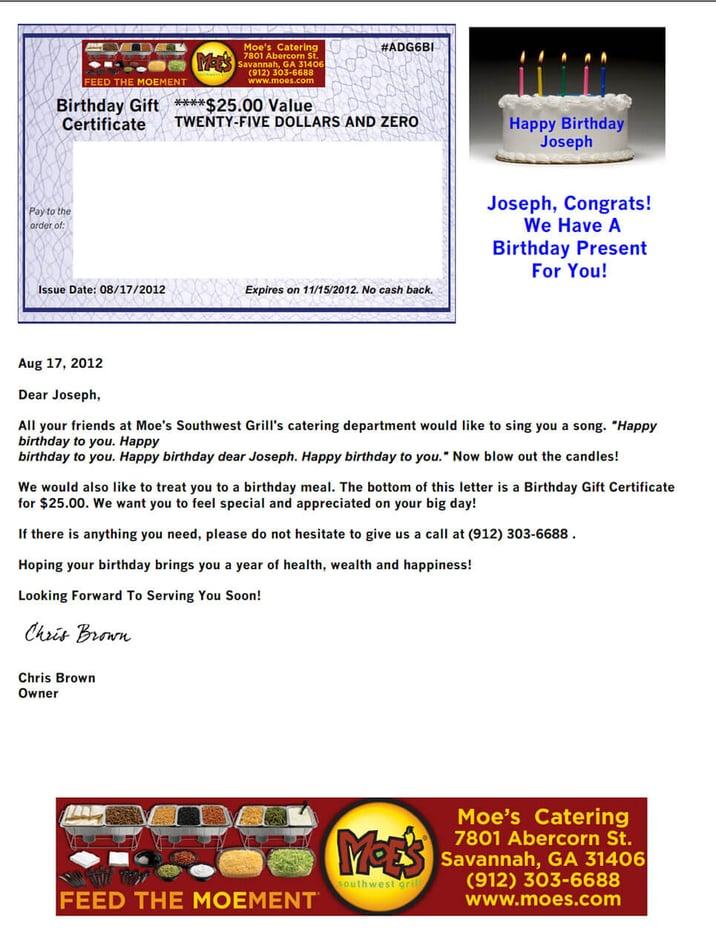 birthday-program