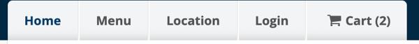 cart button online ordering