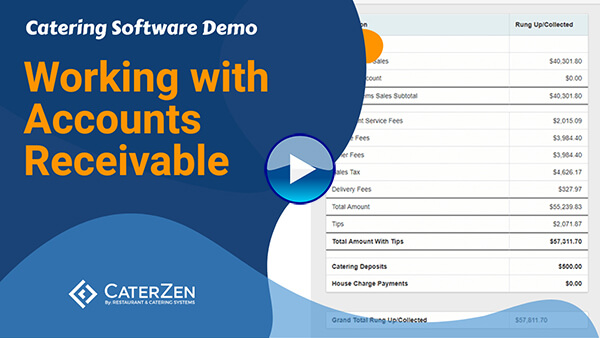 catering accounting software video