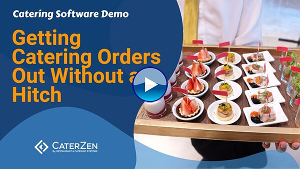 catering orders thumbnail video