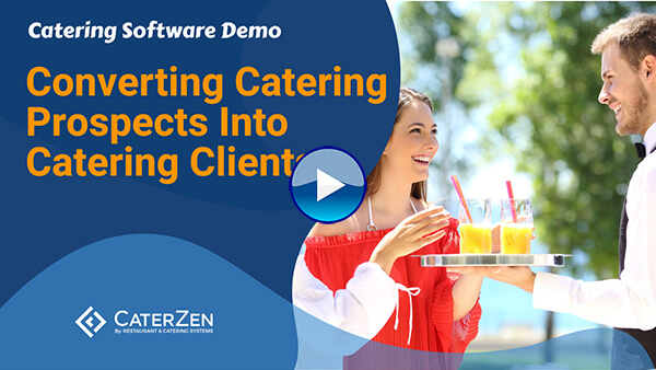 catering prospects to clients video