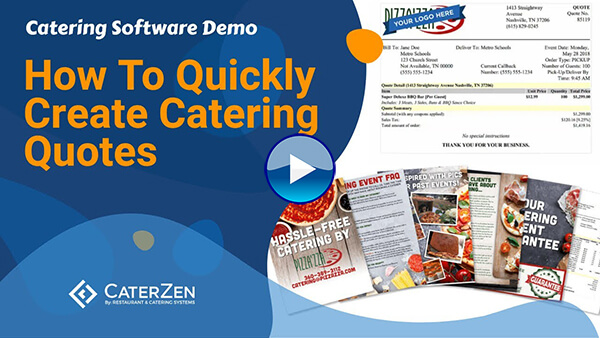 create cateringquote video thumbnail