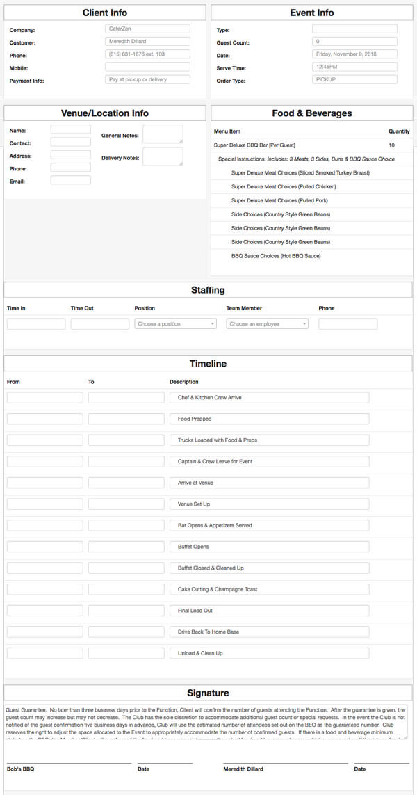 customize-beo-template