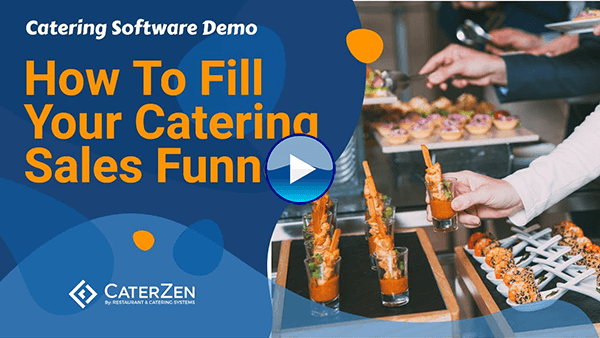 catering sales funnel video