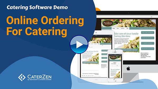 online ordering for catering video