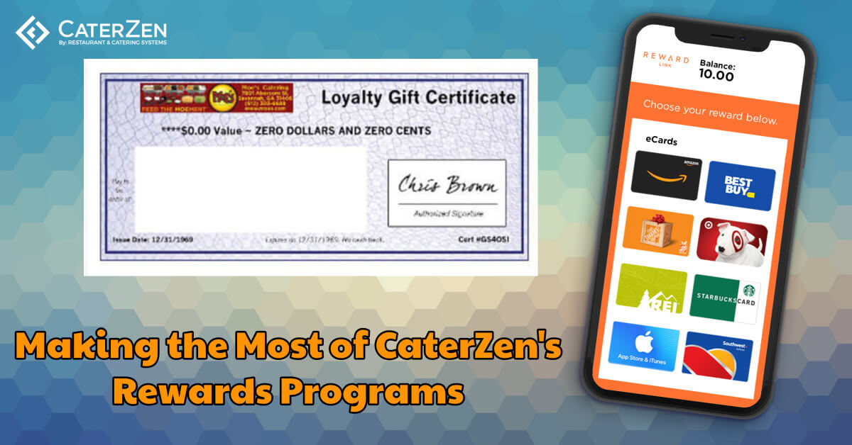 catering loyalty reward program