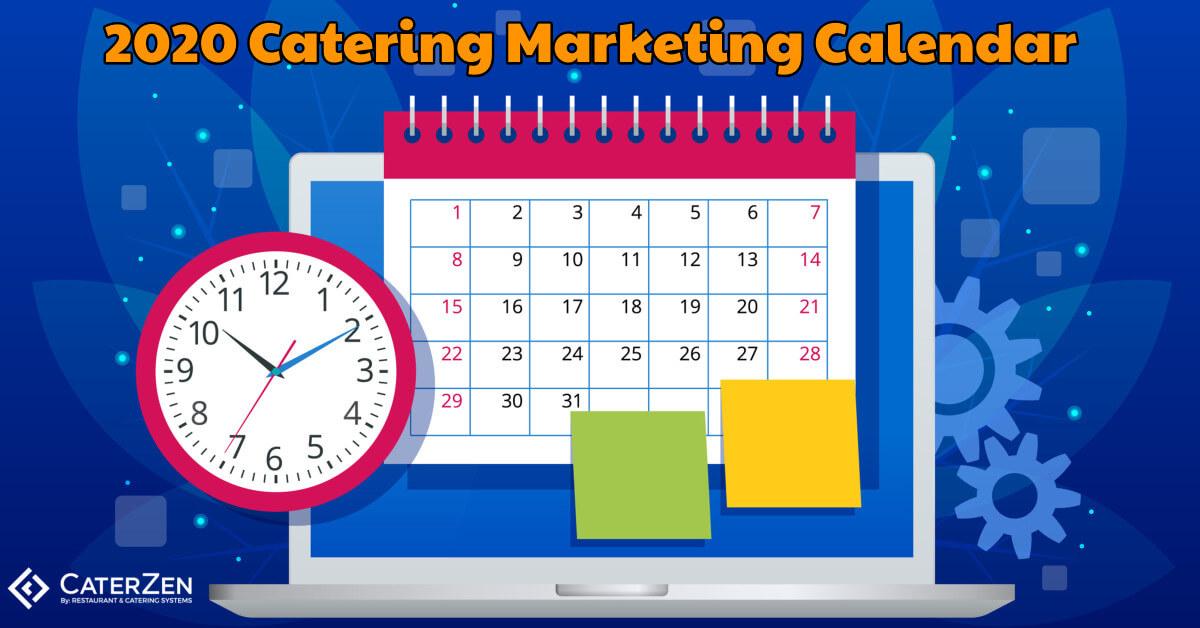 catering marketing calendar