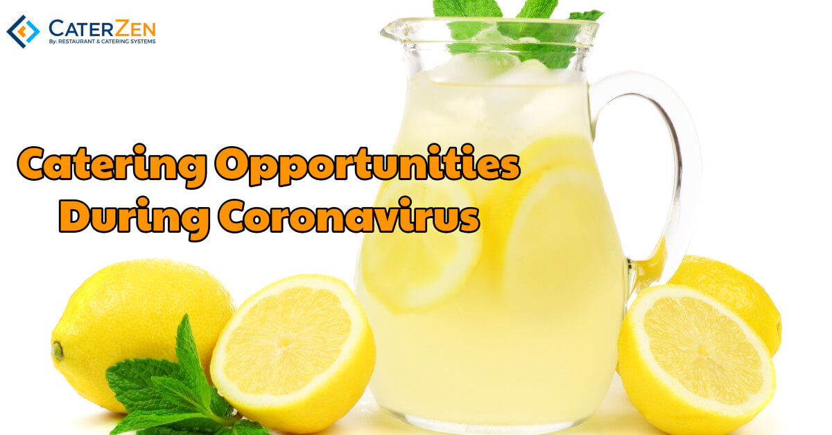 catering opportunities coronavirus