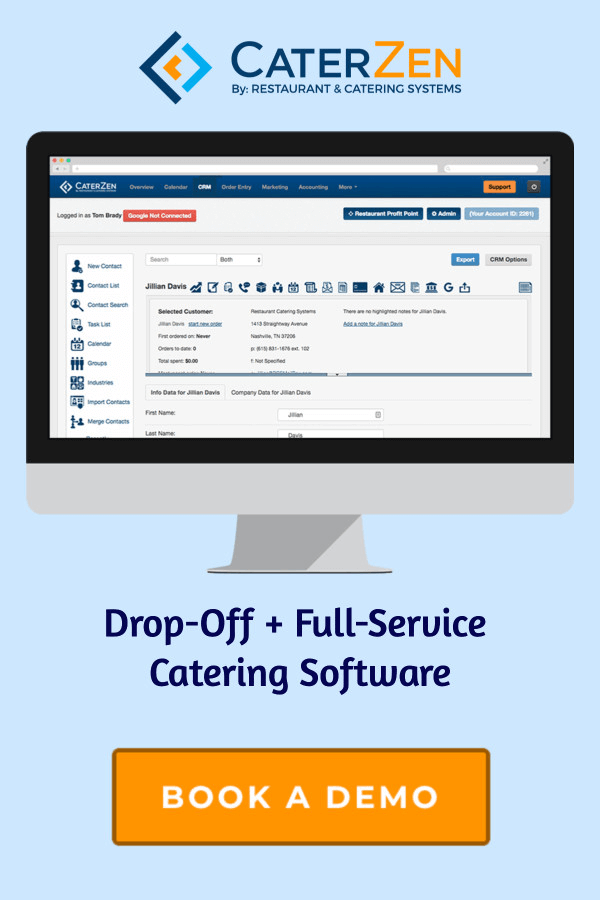 catering software demo