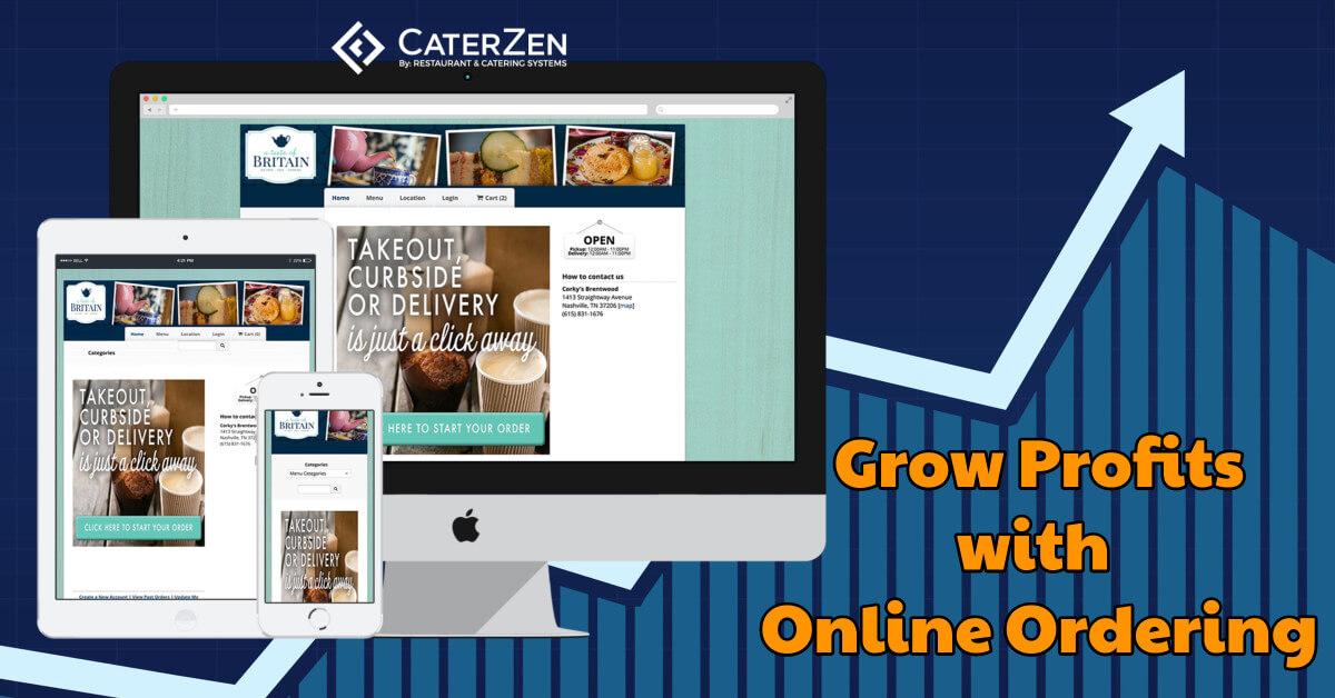 increase profits online ordering