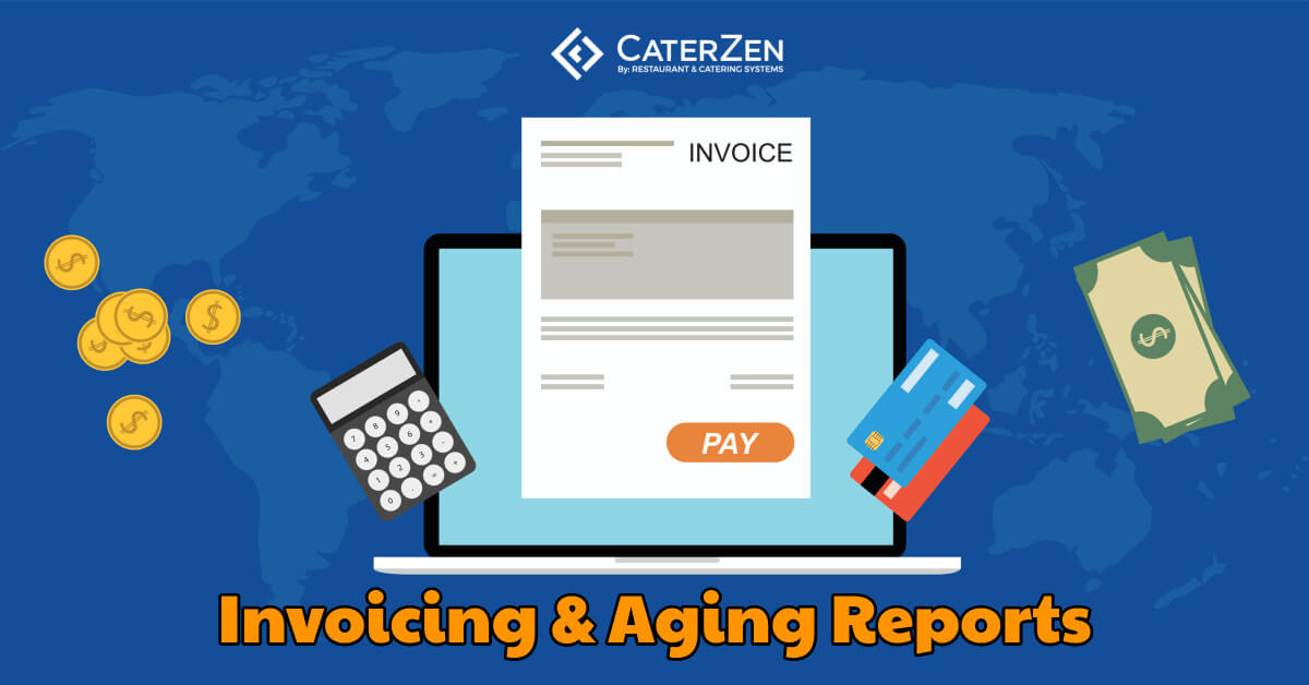 catering invoicing aging reports