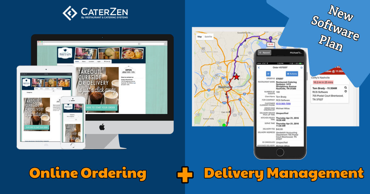 online ordering delivery software