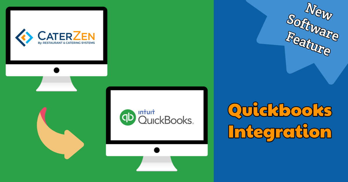 quickbooks integration catering software