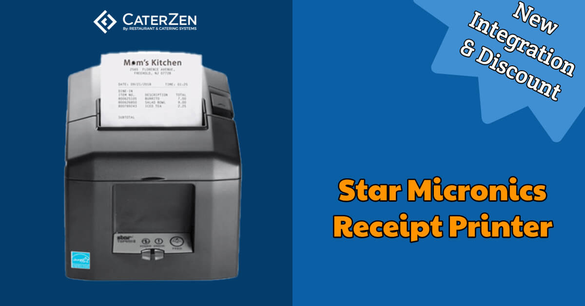 catering receipt printer integration